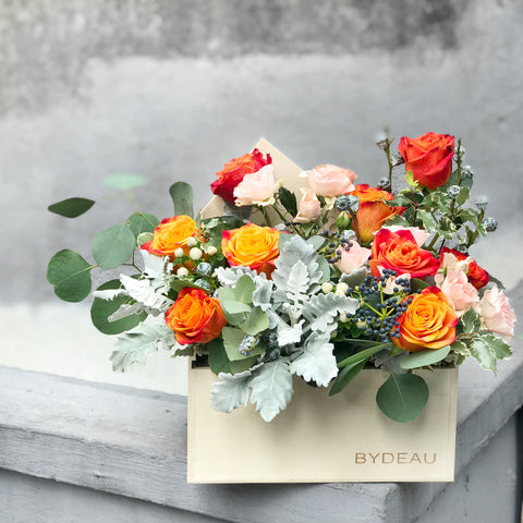 The Firenze Rose Flower Box BYDEAU Hong Kong