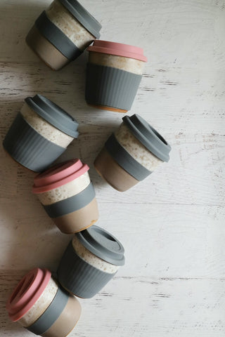 reusable pink keep cup