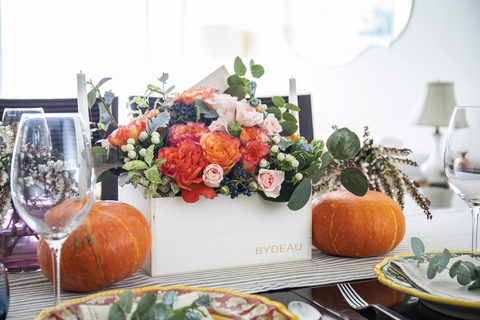 thanksgiving fall table decor