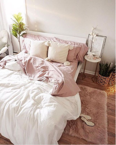 Daily dream decor pink bedroom