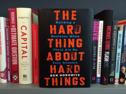 the hard thing about hard things ben horowitz