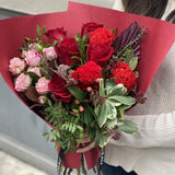The Athena | Valentine's Day Red Roses Bouquet | BYDEAU Hong Kong