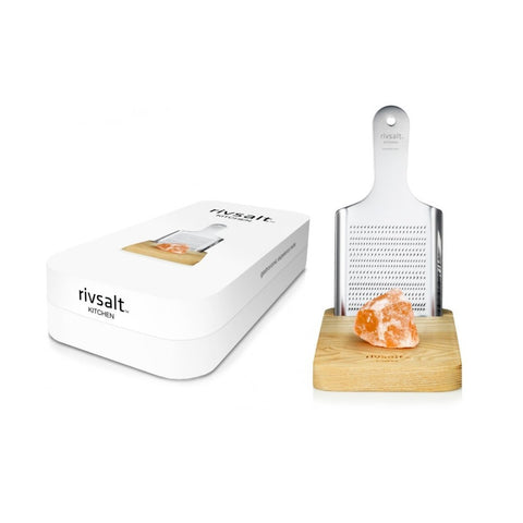 Rivsalt Kitchen Large Himalaya Salt and Grater | BYDEAU Hong Kong