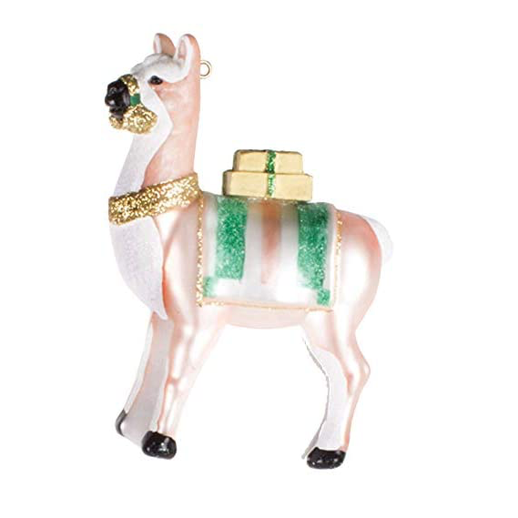 Llama glass ornament by 8 Oak Lane | Gifts for Home | BYDEAU Hong Kong