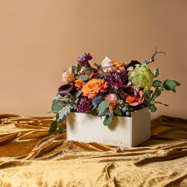 Autumn flower box | BYDEAU Hong Kong | Same Day Delivery