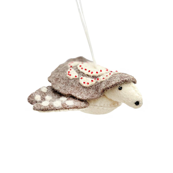 Roost Felt Sea Creature Ornament - Sea Turtle | BYDEAU Hong Kong
