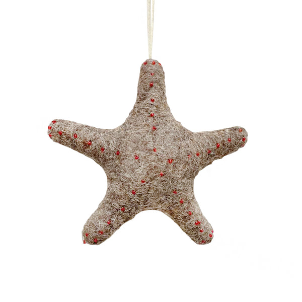 Roost Felt Sea Creature Ornament - Starfish | BYDEAU Hong Kong