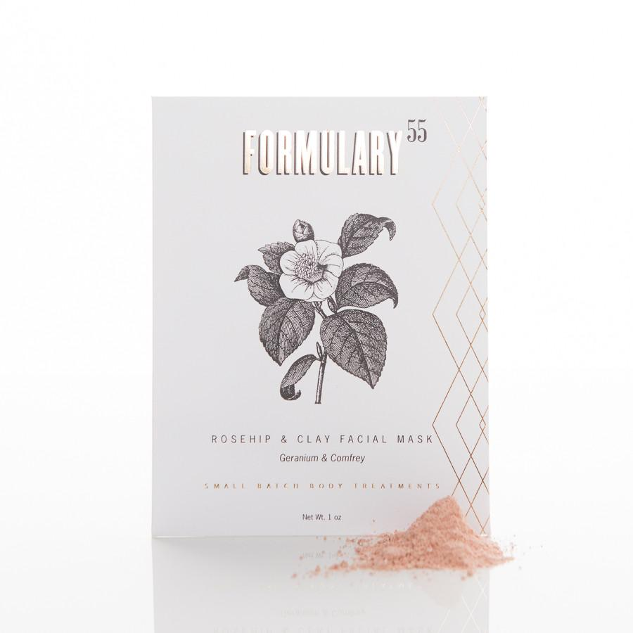 Formulary55 Rosehip Clay Face Mask | BYDEAU Hong Kong