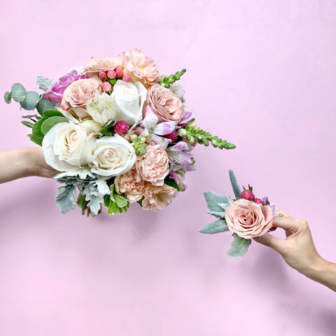 Bridal Bouquet + Boutonnière Workshop | BYDEAU Hong Kong