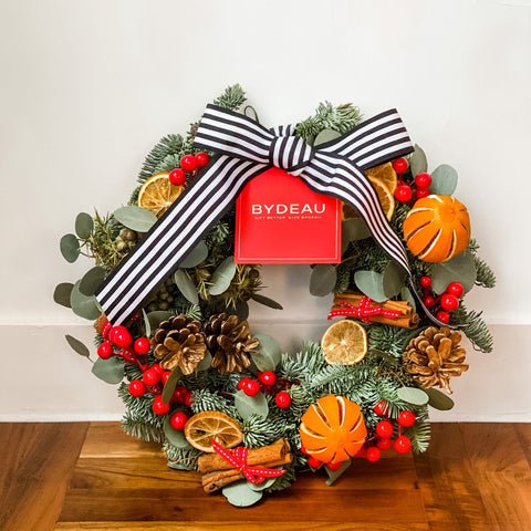 Custom Christmas Wreaths | BYDEAU Hong Kong