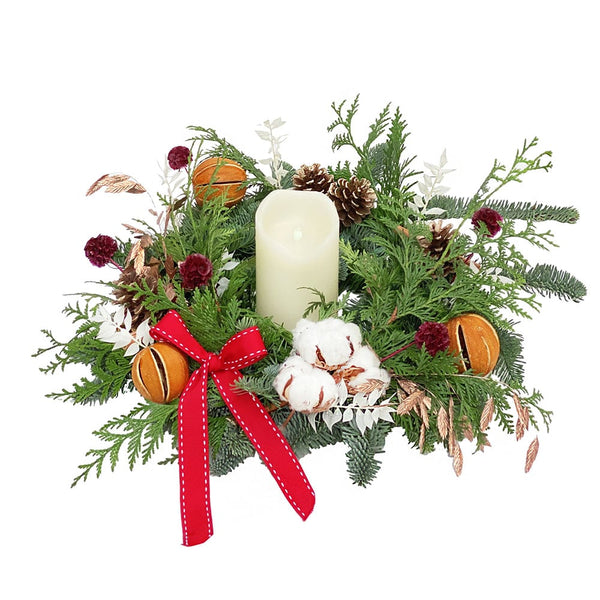 Christmas Wreath for Table | BYDEAU Hong Kong