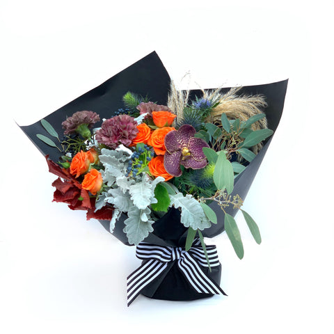 The Elvira | Halloween Flower Arrangement | Hong Kong Delivery