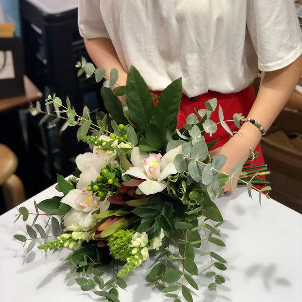 Learn to make beautiful flower bouquets | flower workshop | Hong Kong | BYDEAU