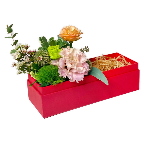 Flowers add on | Medium Gift Boxes with flowers | BYDEAU Hong Kong