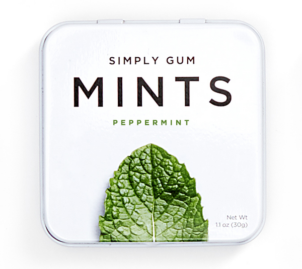 Simply Gum Peppermint BYDeau Gifts