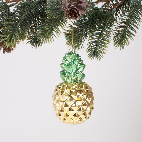 Pineapple Glass Ornament | Gift for Home | BYDEAU Hong Kong