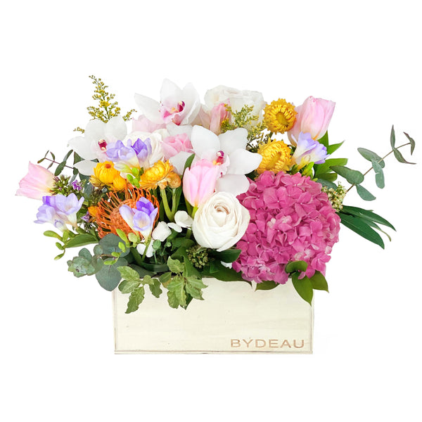 The Katherine | Mother's Day Flower in a Box | BYDEAU Hong Kong