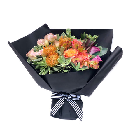 The Aperol Orange Rose Bouquet Large | BYDEAU Hong Kong