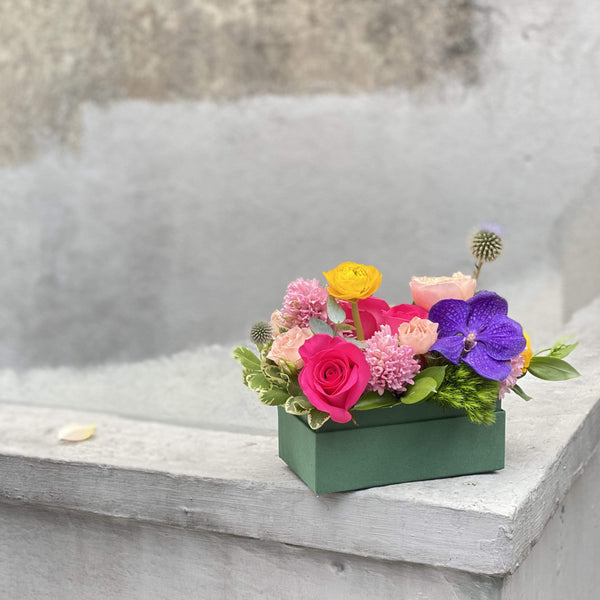 The Pauline | Orchids Rose Flower Box | BYDEAU Hong Kong