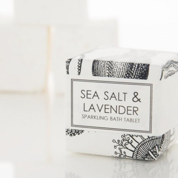 Formulary 55 - Sea Salt & Lavender Sparkling Bath Tablet | BYDEAU Hong Kong