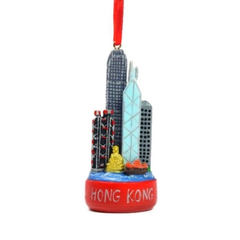 Lionrock Press Christmas Ornament | Hong Kong Ornament | BYDEAU