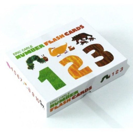 Number flash cards from Eric Carle | Gift for kids | BYDEAU Hong Kong