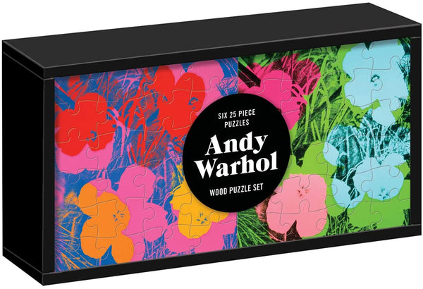 Puzzle Wood Set Andy Warhol | Gift for kids | BYDEAU Hong Kong