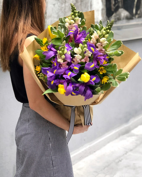 Purple Easter Flowers | BYDEAU Hong Kong