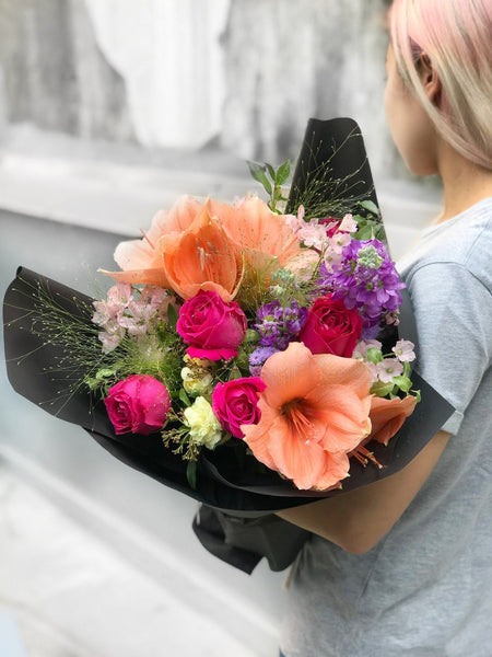 fresh flowers mothers day same day delivery hong kong BYDEAU The Claire