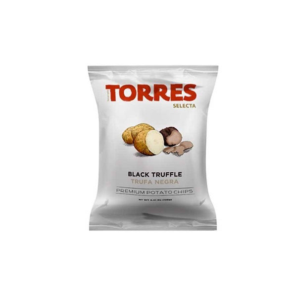 Torres Chips Black Truffle  | Premium Potato Chips | Gifts | Gourmet | BYDEAU Hong Kong