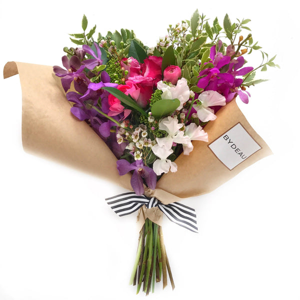Hand Tied Flowers Subscription Hong Kong
