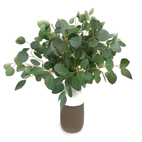 eucalyptus leaf vase arrangement - The Eucalypt