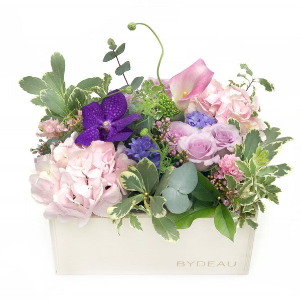orchid rose arrangement same day delivery BYDEAU Vase Arrangement - The Fiona