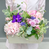 hydrangeas orchid rose fresh flowers BYDEAU