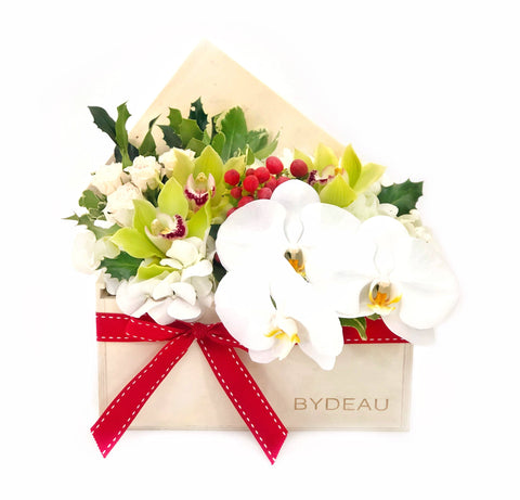The Robyn Orchid Flower Box | BYDEAU Hong Kong