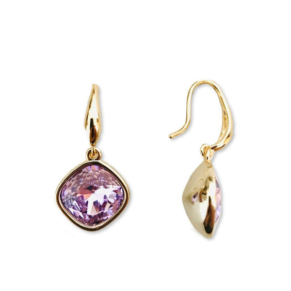 violet drop earrings | gifts for her | BYDEAU Hong Kong