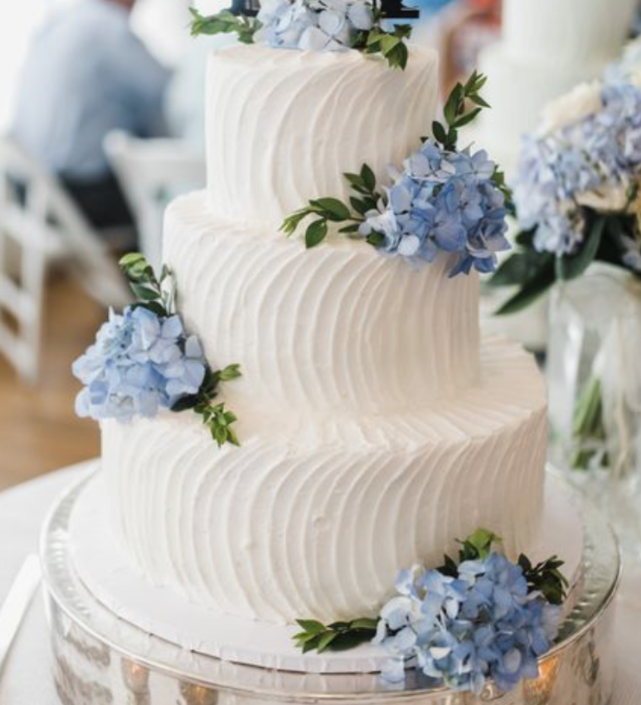 cake with flowers floral