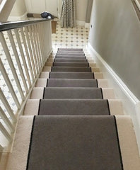 Great advice on type of carpet for the stairs and also on the colours to use.