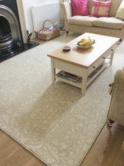 Laura Ashley perfect size rug for my lounge...