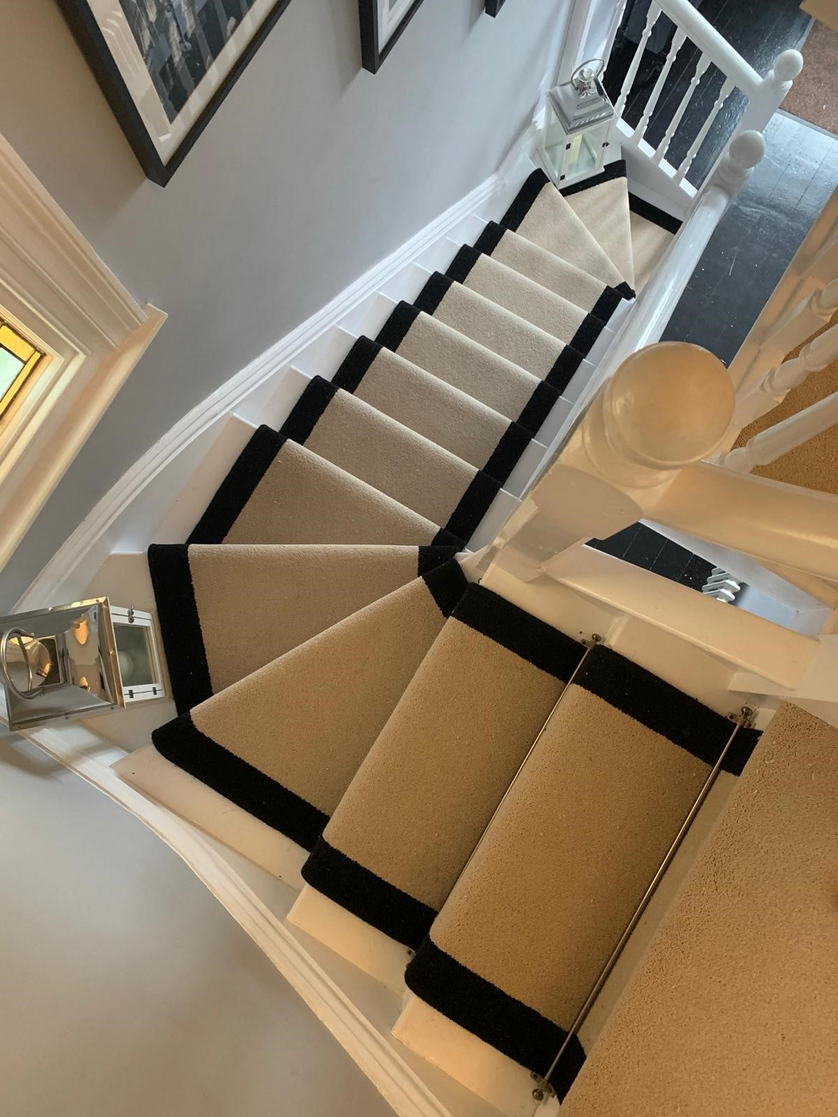 We Are Over The Moon With Our Stair Runner And Landing Carpet Stonegate Carpets