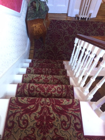 Axminster carpets Medici Ruby Damask