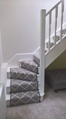Axminster Carpets Royal Borough Collection Trellis Steel