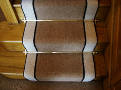 Brintons Carpets Bell Twist Coffee Ebony & Barley Stair Runner