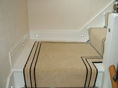 Brintons Carpets Bell Twist French Champagne & Brighton Rock Stair Runner