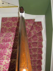 Brintons Carpets Laura Ashley Tatton Cerise Stair Runner