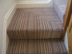 Brintons Carpets Pure Living Carousel Cord (2nd example) Fitted Stair Carpet