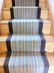 Brintons Carpets Pure Living Coastal Cord & Bell Twist Smoke Border