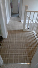 Brintons Carpets Pure Living Earth Plaid & True Velvet Jet Border