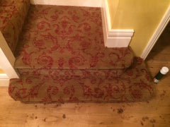 Brintons Carpets Renaissance Classics Medici Ruby Fully Fitted Stair Carpet & Landing