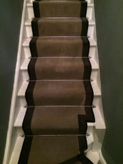 Victoria Carpets Royal Victoria Taupe & True Velvet Space Stair Runner